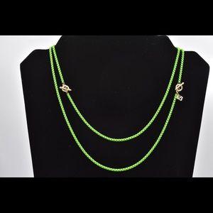 David Yurman Bel Aire chain in green